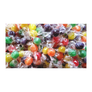 CANDY!!! CANVAS PRINT