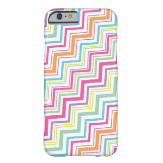 Candy Color Chevron Stripe iPhone 6 case Barely There iPhone 6 Case