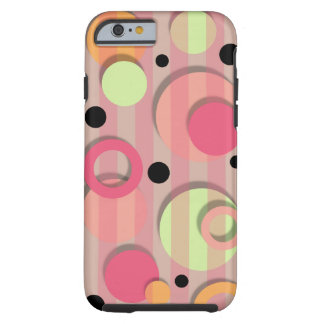 Candy Color Circles iPhone 6 case