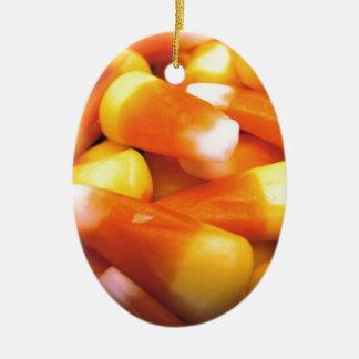 Candy Corn Christmas Tree Ornaments