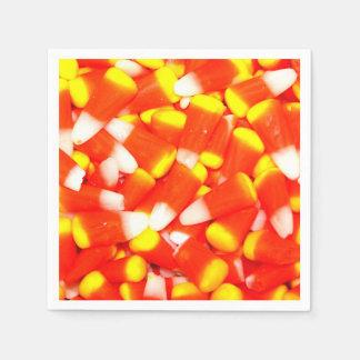 Candy Corn Disposable Napkins