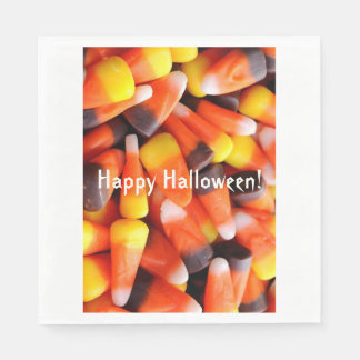 Candy Corn Paper Napkins