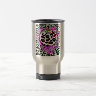Candy Dish Painting Stainless Steel Travel Mug