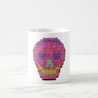 Candy-Mint Skull-on-a-Mug Coffee Mug