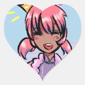 Candy Princess Sticker