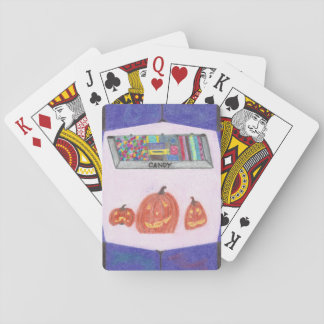 Candy Shop Stop Playing Cards