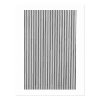 Candy Strips Silver The MUSEUM Zazzle Gifts Postcard