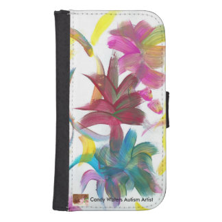 Candy Waters Autism Artist Galaxy S4 Wallets