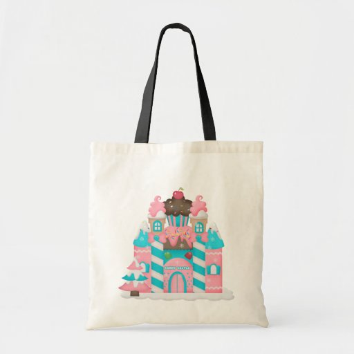 Candyland sweet treat tote bag