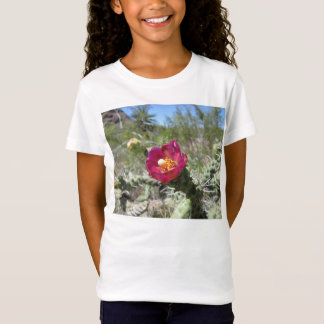 Cane Cholla Desert Flower T-Shirt