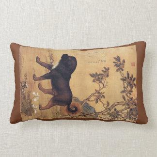 Cangni 苍猊 ~ Tibetan Mastiff ~Giuseppe Castiglione~ Lumbar Cushion