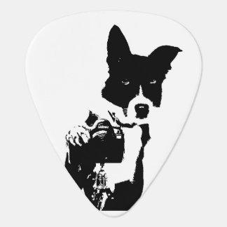 Canine Photographer Guitar Pick