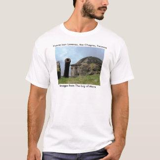 Cannon, Fuerte San Lorenzo, Rio Chagres, Panama T-Shirt