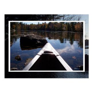 Canoe Ride Postcard
