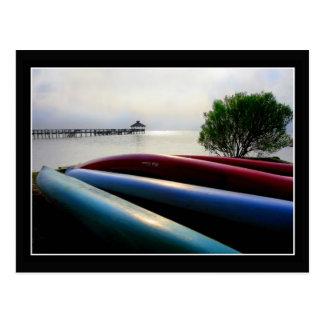 Canoes Postcard