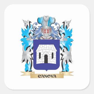 Canova Coat of Arms - Family Crest Sticker