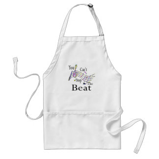 Can't Stop The Beat......bigger Aprons