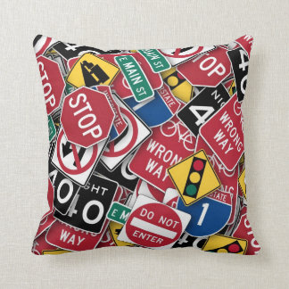 Can't You Read The Signs Cushion