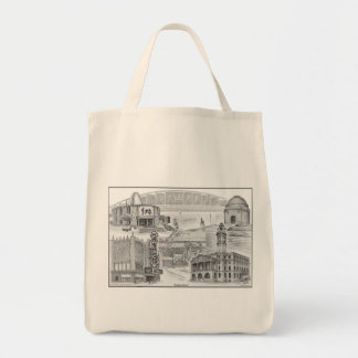 Canton Ohio Historic Landmarks Tote Bag