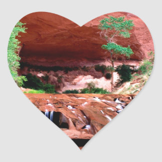 Canyon Coyote Gulch Escalante Riverutah Heart Sticker