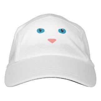 Cap White Cat