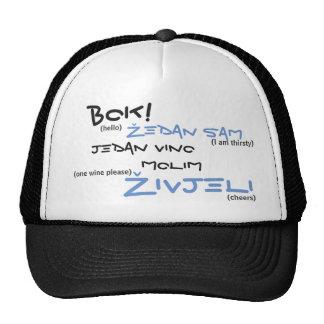 cap: Živjeli white Cap