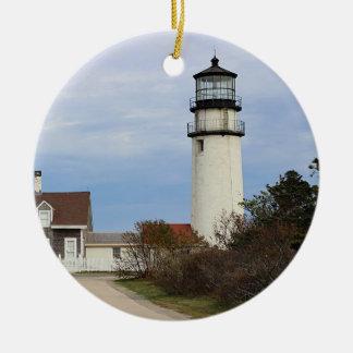 Cape Cod lighthouse Christmas Ornament
