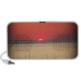 Cape Cod Sunset iPod Speakers