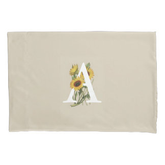 Cape Daisy A Monogram Pillow Case