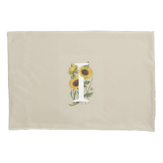 Cape Daisy I Monogram Pillow Case