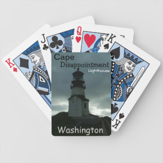 Cape Disappointment Lighthouse Playing Cards