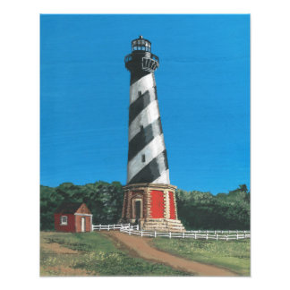Cape Hatteras Lighthouse on Photo Paper
