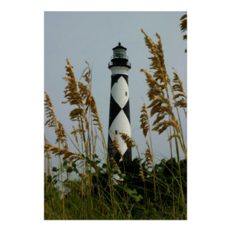 Cape Lookout through the Sea Oats Print
