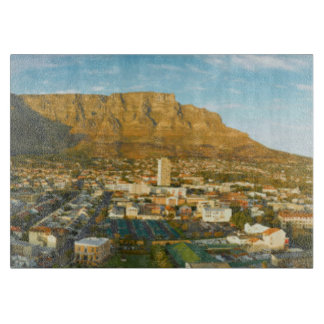 Cape Town Cityscape With Table Mountain Cutting Boards