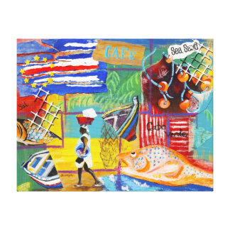 Cape Verde Wall Canvas Canvas Print