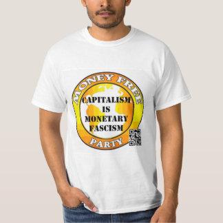 Capitalism - Monetary Fascism (NZ) T-shirts