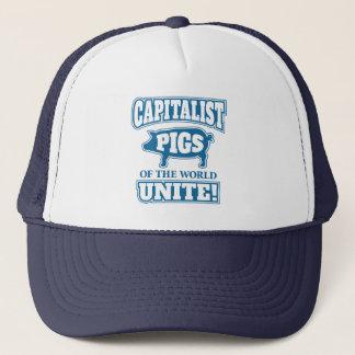 Capitalist Pigs of the World Unite Trucker Hat