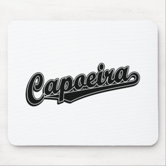 Capoeira in black fancy mouse pad