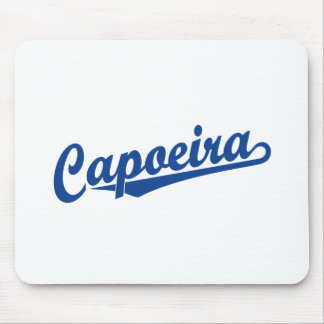 Capoeira in blue mouse pad