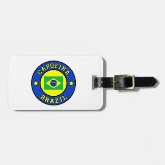 Capoeira Luggage Tag