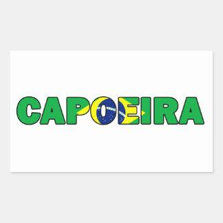 Capoeira Rectangular Sticker