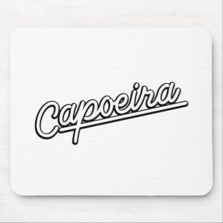 Capoeira white mouse pad