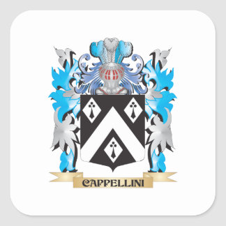 Cappellini Coat of Arms - Family Crest Stickers