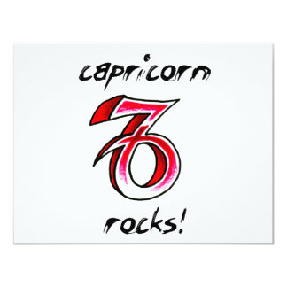 Capricorn Horoscope Sign design! Card
