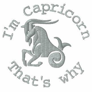 Capricorn Zodiac Sign Embroidery Dec 22 - Jan 19 Polo Shirt