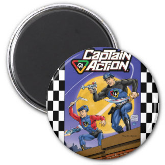Captain Action- Murphy Anderson Magnet