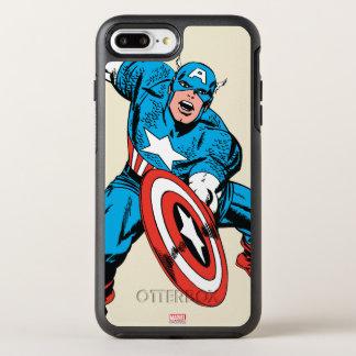 Captain America Retro 9 OtterBox Symmetry iPhone 8 Plus/7 Plus Case