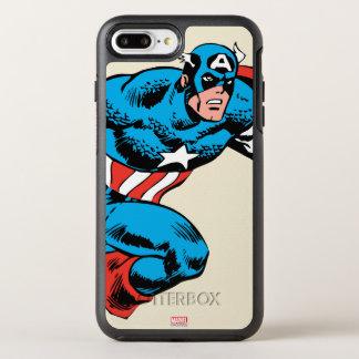 Captain America Retro OtterBox Symmetry iPhone 8 Plus/7 Plus Case