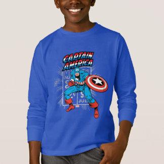 Captain America Retro Price Graphic T-Shirt