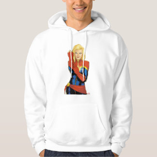 Captain Marvel Fitting Glove Hoodie